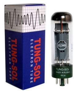 Tung Sol EL34B Power Tubes