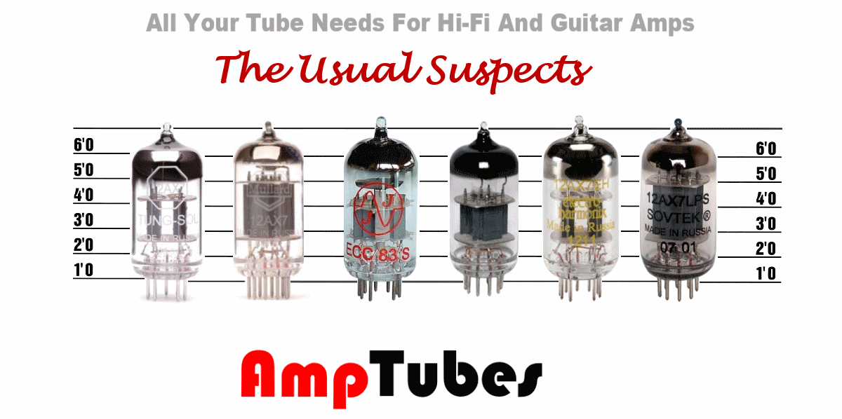 Preamp tubes