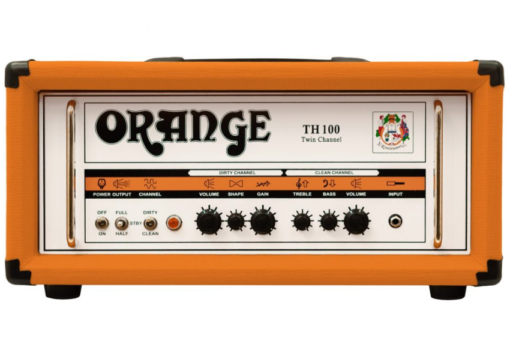 orange th100 amp tube set