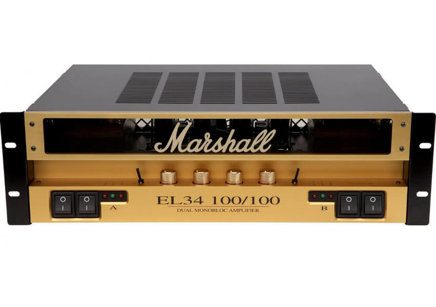 Marshall 9200 EL34 100/100 Dual Monobloc Tube Set